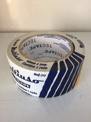 FITA SIL TAPE BRANCA 48MM X 30M (L00011609)