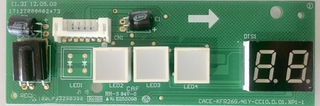 PLACA ELETRONICA DO DISPLAY (L2013325A0424)
