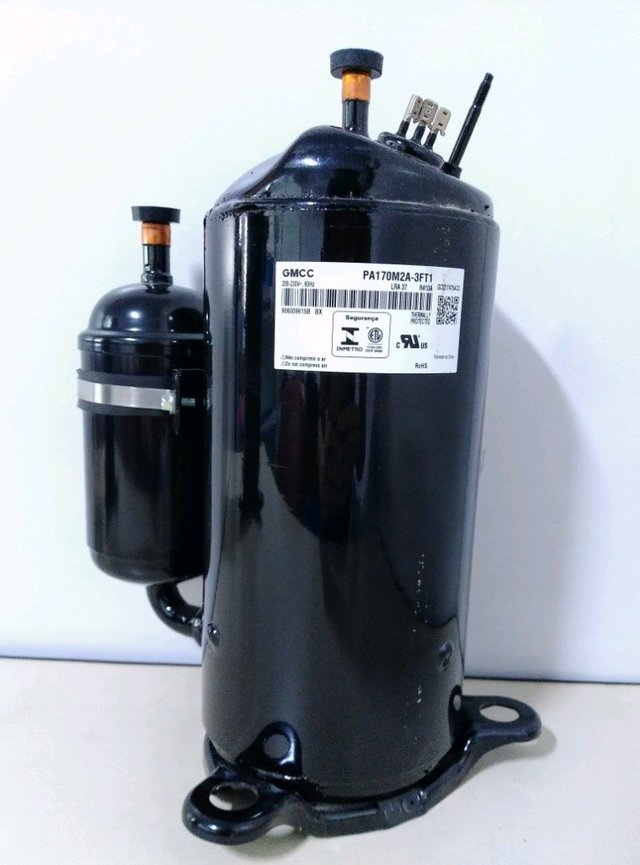 COMPRESSOR ROTATIVO GMCC 18000 BTU R410 60Hz 1ph PA170M2A-3FT1  na internet