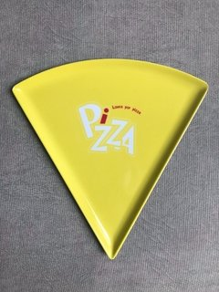 Prato pizza yellow