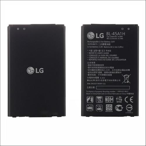 Bateria Lg K10 K430 K430ar 2016 Bl 45a1h K420t Original
