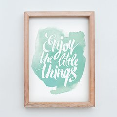 Cuadro Enjoy The Little Things - comprar online