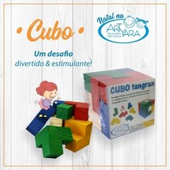 Cubo Tangran 3D - Serelepes