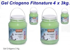 Gel Criogeno Fitonature  4 X 3 Kgm Reductor Calidad Profesional