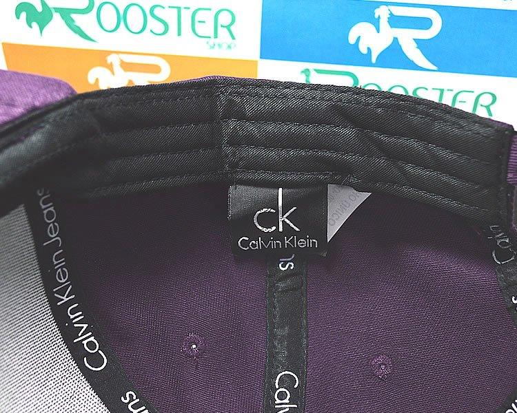 Boné Calvin Klein CK Roxo Aba Curva Strapback Unissex. 0% OFF 57846ca1390