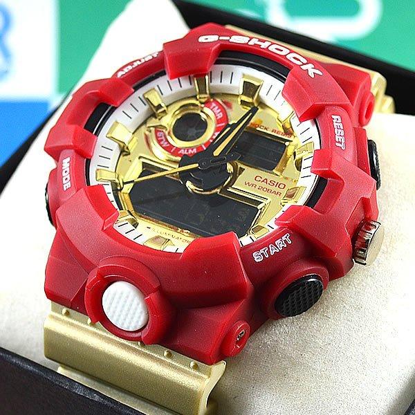 a92bbda41ad Relógio Casio G-Shock GA-700 Special Edition Marvel Iron Man Unissex à prova  d´água + Estojo Original