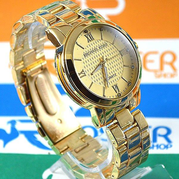 0e440d2304f Relógio Michael Kors Hartman Gold Back Gold Pulseira Aço Feminino + PULSEIRA  e BRINCOS. 0% OFF. 1