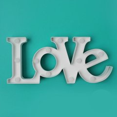 LÁMPARA LED METAL - LOVE - comprar online