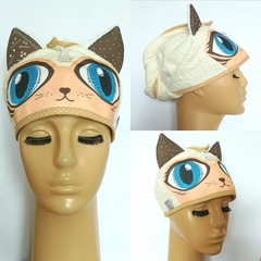 TURBANTE GATO CRUDO