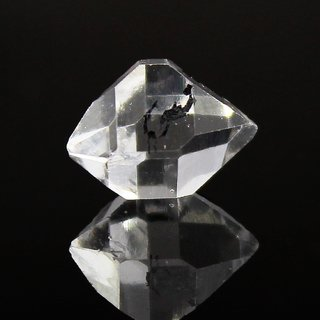 Diamante de Herkimer (quartzo) - 0,8 cm - 1,2 quilates