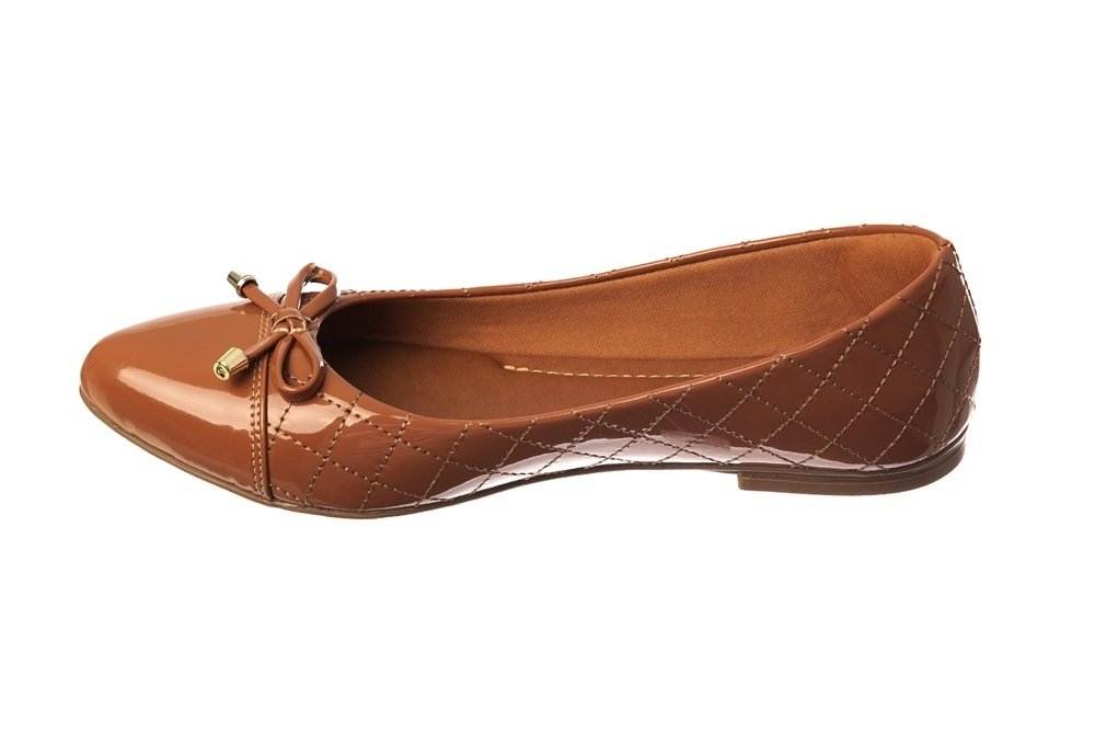 5d4db6ea8 Sapatilha Verniz Terra Matelassê - Butique de Sapatos