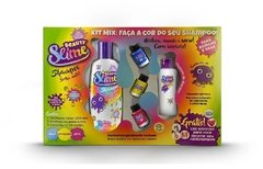Kit Mix Beauty Slime Shampoo Transform Cores Primarias