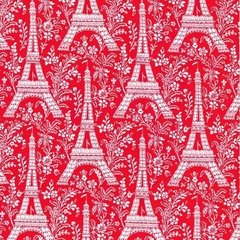 Retazo Eiffel Red