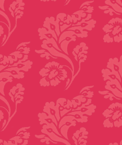 Papel Damask Red