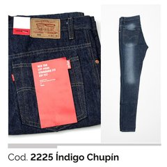 semi chupin color indigo