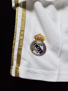 Imagem do Kit Real Madrid Home Kid 19-20