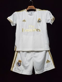 Kit Real Madrid Home Kid 19-20 - Allianz Storebr