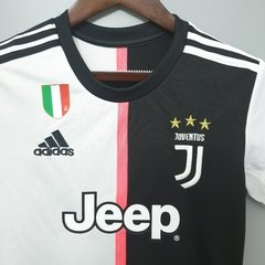 Camisa do Juventus Home Feminina 19-20 - Allianz Storebr