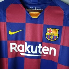 Camisa Home Barcelona 19-20 - Allianz Storebr