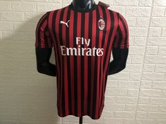 Camisa Home do Milan 19-20 - Allianz Storebr