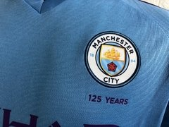 Camisa Manchester City Home 19-20 - Allianz Storebr