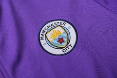 Conjunto Agasalho do Manchester City Roxo - Allianz Storebr