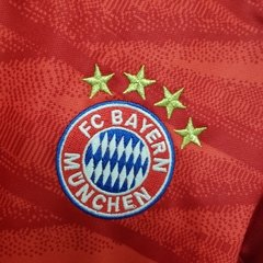 Kit Infantil Home Bayern de Munique Home 19-20 - Allianz Storebr