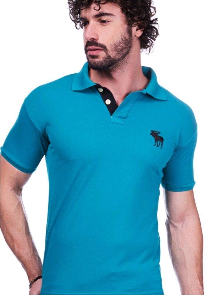 dd13de3fb05 Camisa Polo Abercrombie Verde - Comprar em BAZAR JK