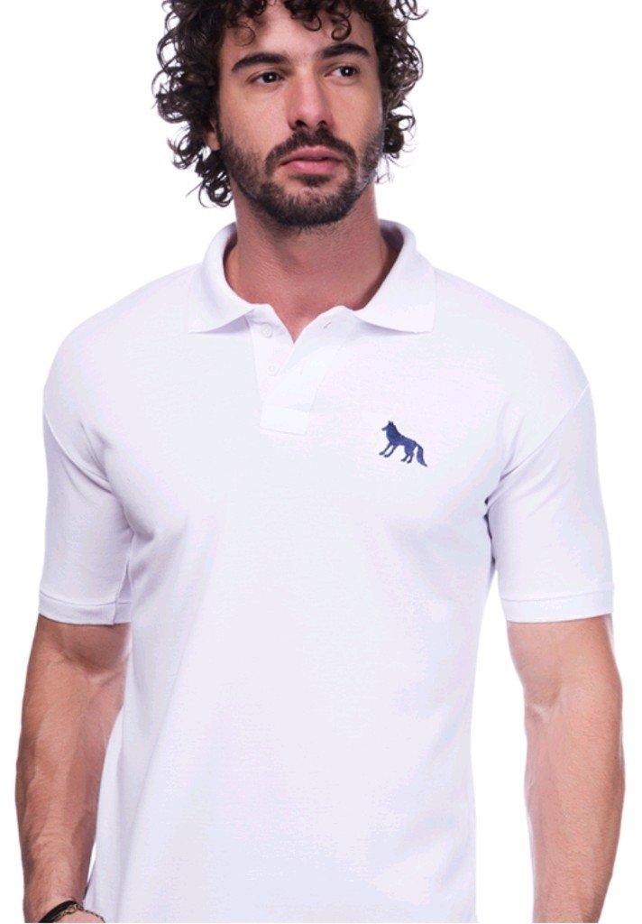 fe67431c4a1 Camisa Polo Acostamento Branca - Comprar em BAZAR JK