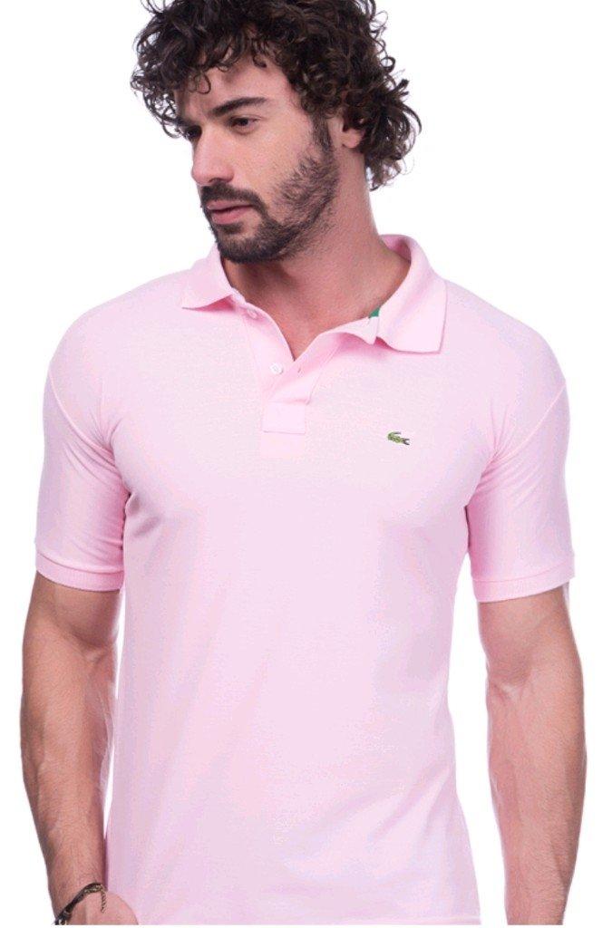 cbfe7e7284d Camisa Polo Da Lacoste Rosa - Comprar em BAZAR JK
