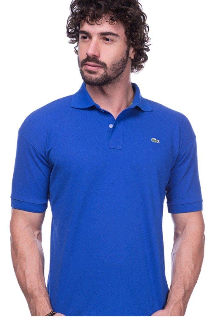 7b1be85abb453 Camisa Polo da Lacoste Azul - Comprar em BAZAR JK