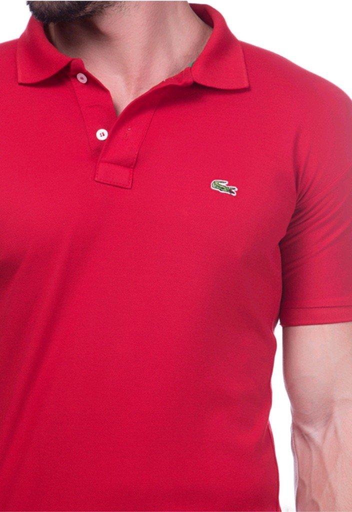 a3e5459e704 Camisa Polo Da Lacoste Vermelha - Comprar em BAZAR JK