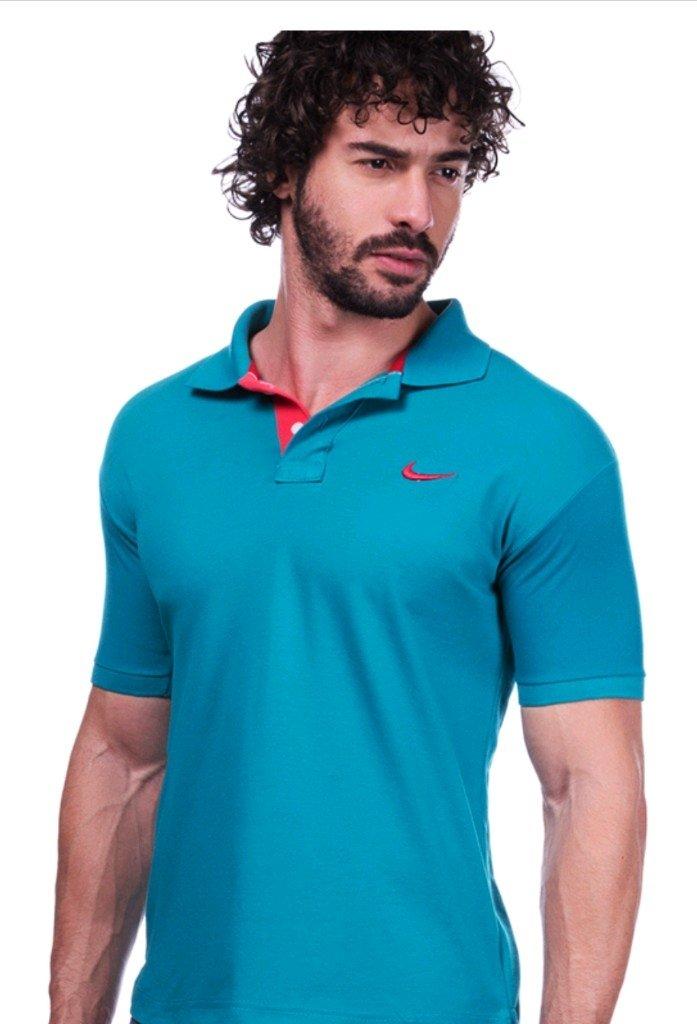 5a279156832 Camisa Polo Da Nike Verde - Comprar em BAZAR JK