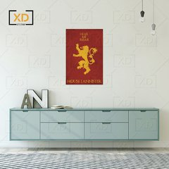 Placa Game of Thrones House Linnister