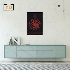 Placa Game of Thrones House Targaryen