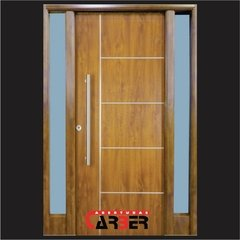 Puerta Doble Pintura Final Simil Madera Nexo DR80 1,60 en internet