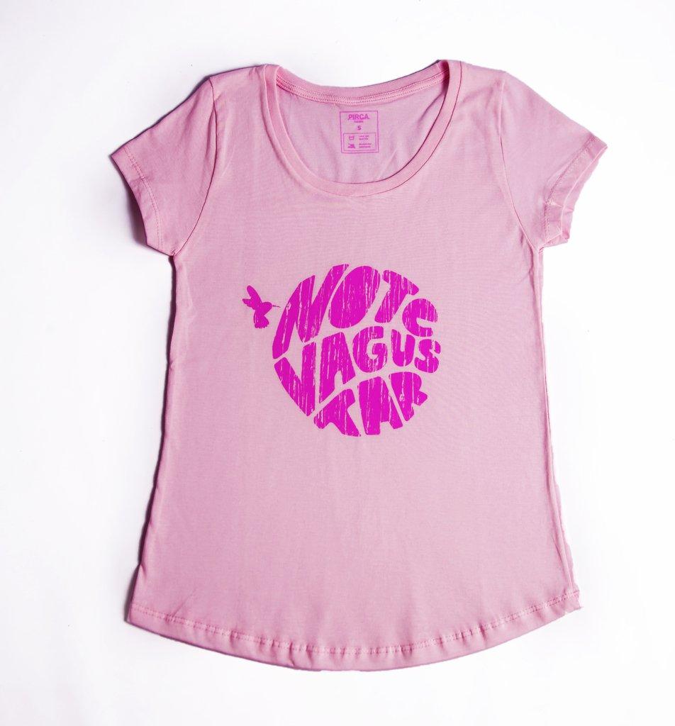 6a6a6001e Remera No Te Va Gustar Mujer rosa + logo rosa