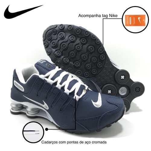 9bf6fdb02e5 Nike Shox Nz Masculino E FEminino Na Caixa Frete Grátis Brasil