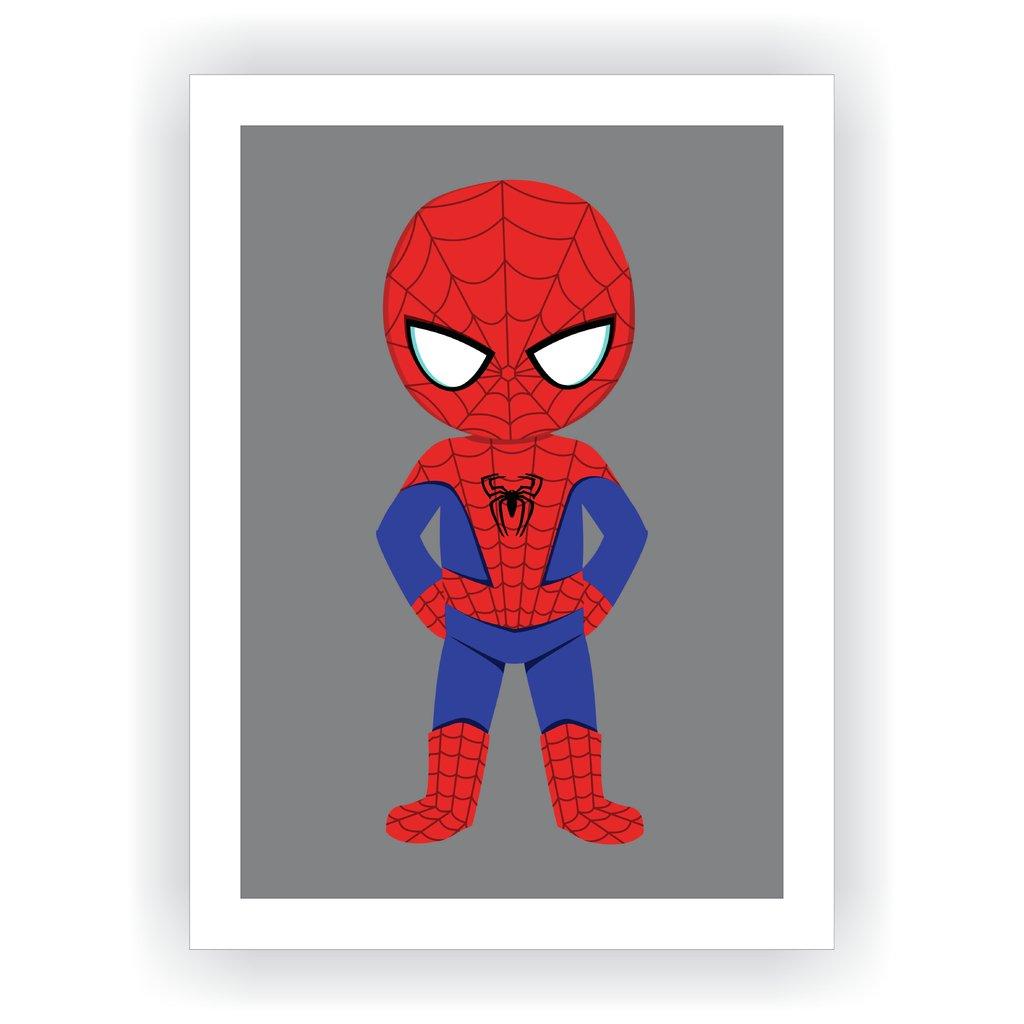 ccc982239 Quadro Super Herói Baby - Homem Aranha II - MMDecora