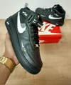 Nike Air Force Cano Alto Preto