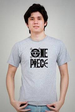 LOGO ONE PIECE - Camisetas de Anime SUMO-KAN