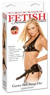 Fetish Fantasy Series Garter Belt Strap-On Black