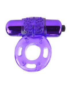 FANTASY C-RINGZ VIBRATING SUPER RING – PURPLE