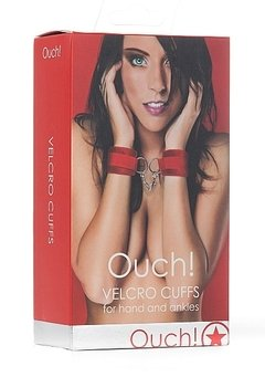 Velcro Cuffs – Red