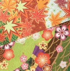 Papel JAPONES 4 SEASONS 15x15cm, 28 simple faz - tienda online