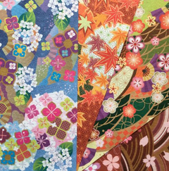 Papel JAPONES 4 SEASONS 15x15cm, 28 simple faz - comprar online