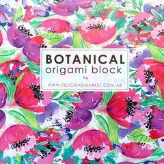 Botanical Block-15x15 cm Simple Faz