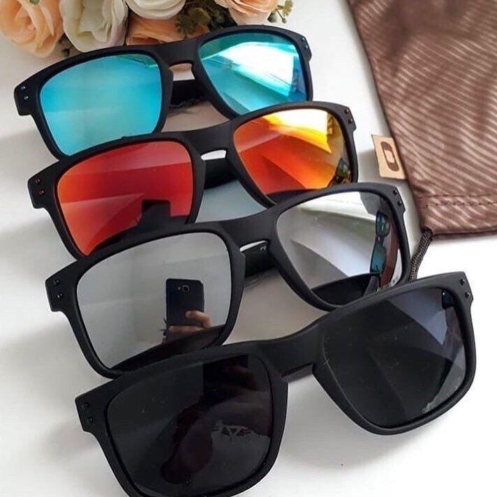 431471716 Oculos De Sol Oakley Holbrook Vr46 100% Polarizados Cores Variadas