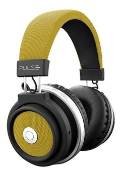 HEADPHONE BLUETOOTH LARGE AMARELO PULSE - PH233