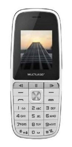 Celular Multilaser Up Play Dual Chip Mp3 Com Câmera Branco - P9077